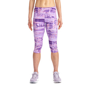 saucony Bullet 2.0 Capri Shorts Women, violet indigo